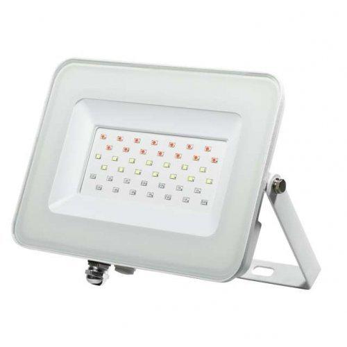Прожектор светодиодный PFL- 30Вт RGB WH IP65 JazzWay 5012103
