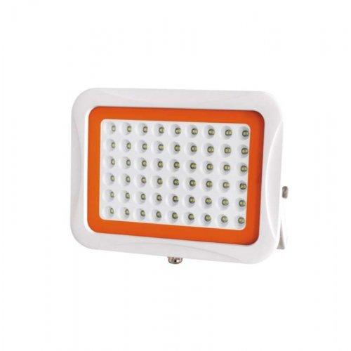Прожектор светодиодный PFL SA 100Вт 6500К 60град. IP65 корпус бел. JazzWay 5007994