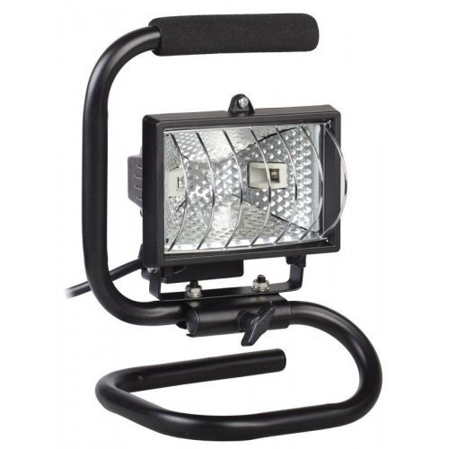 Прожектор FL(ИО) 150П 150Вт R7s IP54 переноска чер. ИЭК LPI03-1-0150-K02