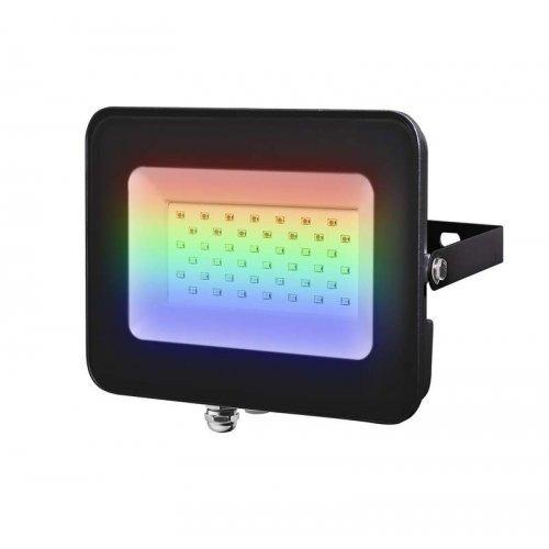 Прожектор светодиодный PFL-30W RGB BL IP65 черн. JazzWay 5016408
