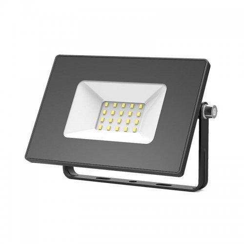 Прожектор LED 20Вт IP65 6500К черн. GAUSS 613100320