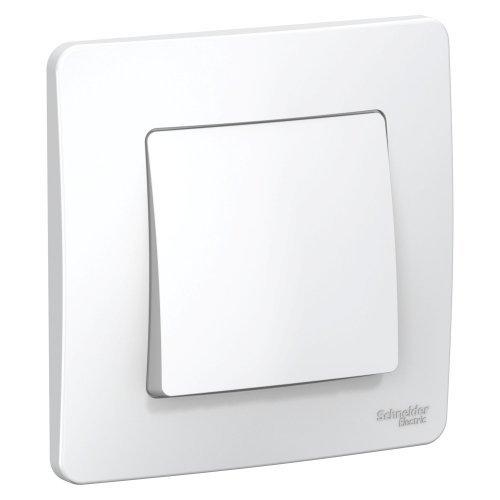 Выключатель 1-кл. СП BLANCA (сх.1) 6А 250В бел. SchE BLNVS006101