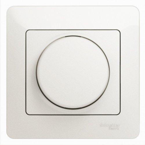 Светорегулятор (диммер) Glossa LED RC 630Вт/В.А в сборе перламутр SchE GSL000637