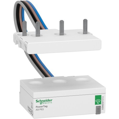 Датчик беспроводной ACTI9 POWERTAG 63А DPN 3P+N / 4P ниже аппарата =S= SchE A9MEM1572