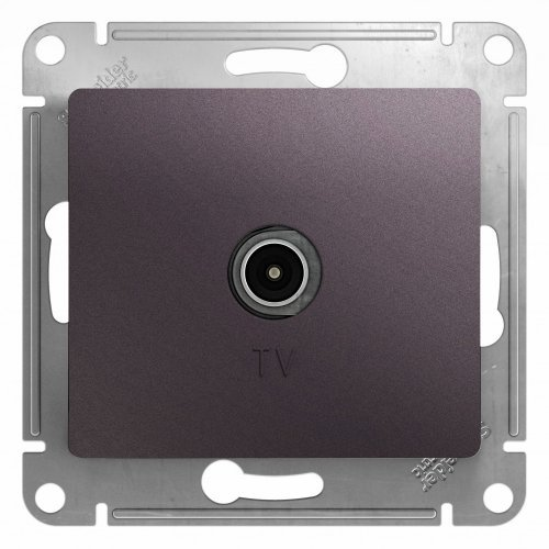Механизм коннектора TV антены Glossa сиреневый туман SchE GSL001493