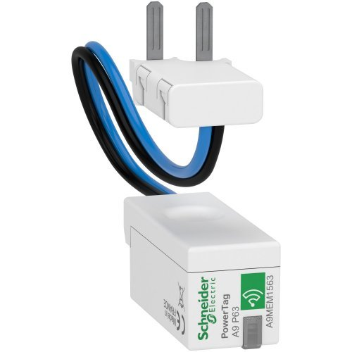 Датчик беспроводной ACTI9 POWERTAG 63А RCBO 1P+N / 2P ниже аппарата =S= SchE A9MEM1563