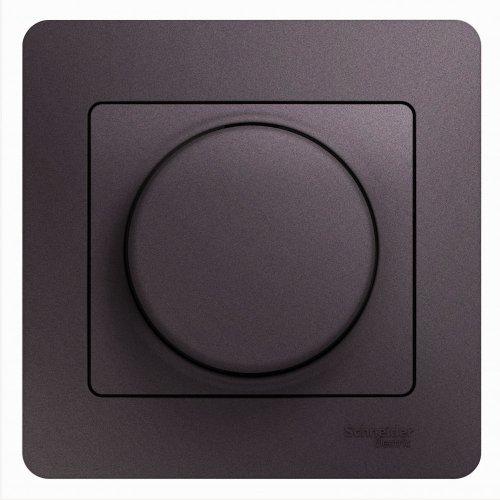 Светорегулятор (диммер) Glossa LED RC 630Вт/В.А в сборе сирен. туман SchE GSL001437