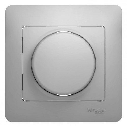 Светорегулятор (диммер) Glossa LED RC 630Вт/В.А в сборе алюм. SchE GSL000337