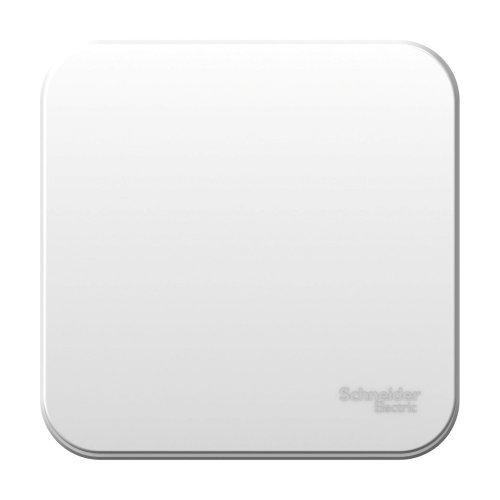 Переключатель 1-кл. ОП Blanca 10А IP20 (сх. 6) 250В с изолир. пластиной бел. SchE BLNVA106011
