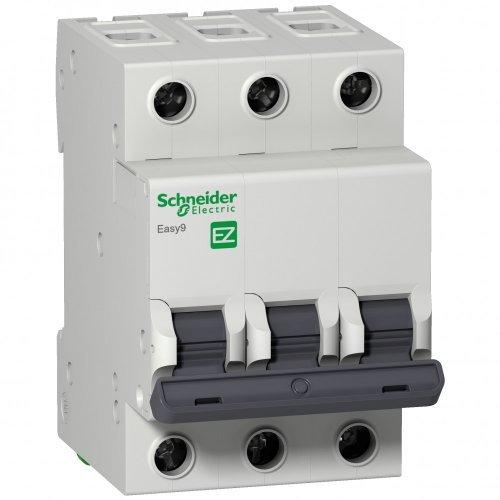 Выключатель автоматический трехполюсный 25A C 4.5кА EASY 9