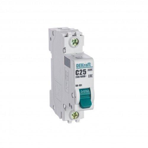 Выключатель автоматический модульный 1п C 25А 4.5кА ВА-101 SchE 11056DEK