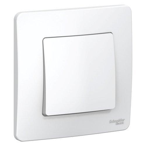Выключатель 1-кл. СП BLANCA (сх.1) 10А 250В бел. SchE BLNVS010101
