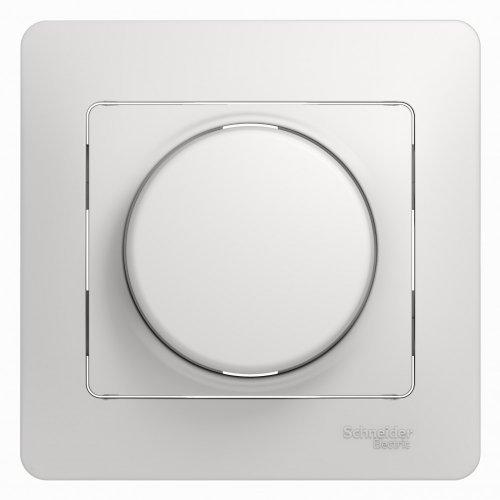 Светорегулятор (диммер) Glossa LED RC 630Вт/В.А в сборе бел. SchE GSL000137