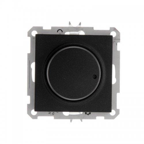 Светорегулятор СП 600Вт W59 черн. барх. SchE SR-5S2-6-86