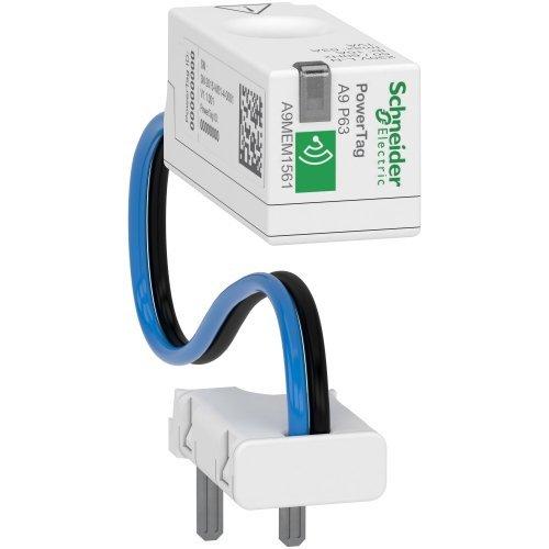 Датчик беспроводной ACTI9 POWERTAG 63А DPN 1P+N / 2P выше аппарата =S= SchE A9MEM1561