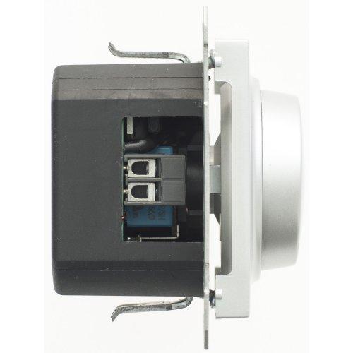 Механизм светорегулятора СП W59 поворот. 300Вт мат. хром SchE SR-5S0-5-86