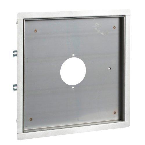Лючок UFB-900М/25 центральный выход 220X310 нержавеющая сталь