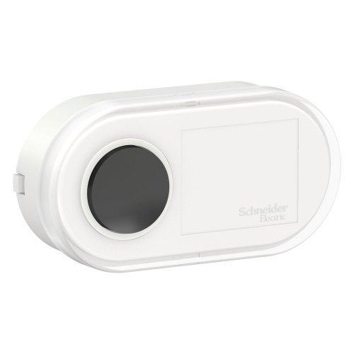 Кнопка звонка ОП BLANCA проводная 0.4А 250В бел. SchE BLNKA000011