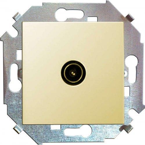 Механизм розетки TV СП Simon15 одиночная сл. кость Simon 1591475-031