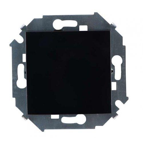 Механизм выключателя 1-кл. СП Simon15 10А IP20 черн. Simon 1591101-032