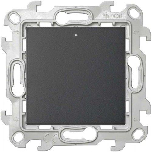Механизм переключателя с подсветкой Simon24 графит 2450204-038