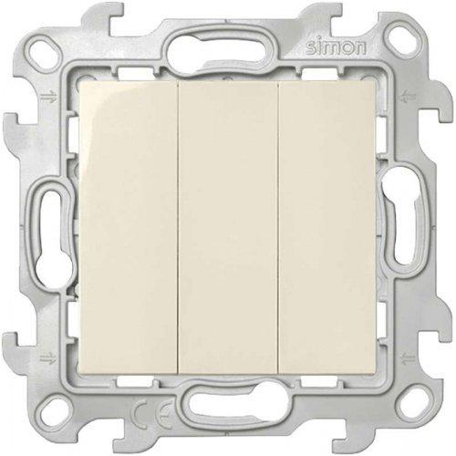 Механизм выключателя 3-кл. Simon24 сл. кость 2450391-031