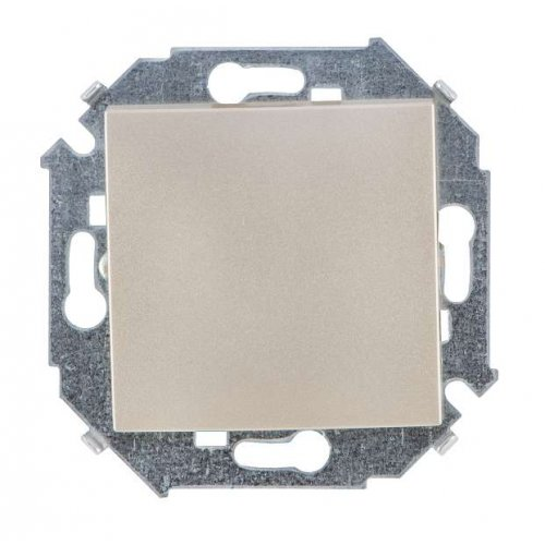 Механизм выключателя 1-кл. СП Simon15 10А IP20 шампань Simon 1591101-034