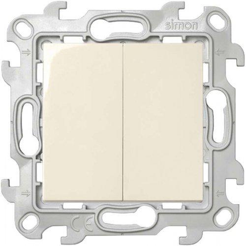 Механизм выключателя 2-кл. Simon24 сл. кость 2450398-031