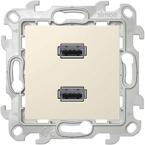 Механизм коннектора 2хUSB Simon24 сл. кость 2411090-031