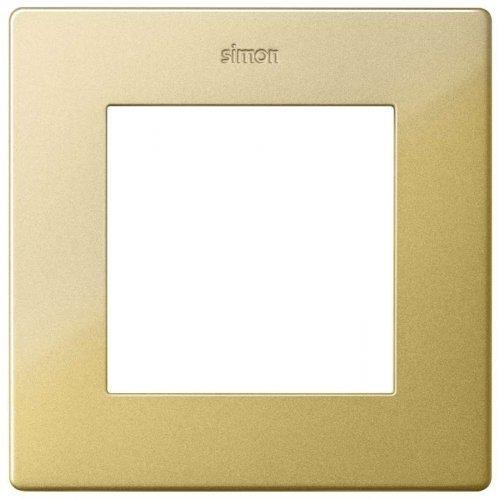 Рамка 1-м Simon24 золото 2400610-066