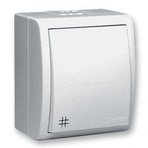 Выключатель проходной 1-кл. ОП Simon15 10 А IP54 с 3-х мест бел. Simon 1594251-030
