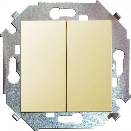 Механизм выключателя проходной 2-кл. СП Simon15 16А IP20 сл. кость Simon 1591397-031