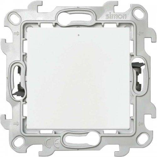 Механизм переключателя с подсветкой Push&Go Simon24 бел. 2420204-030