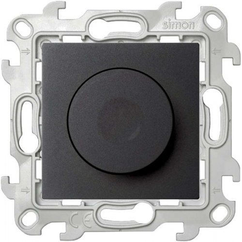 Механизм светорегулятора 450В Simon24 графит 2410313-038
