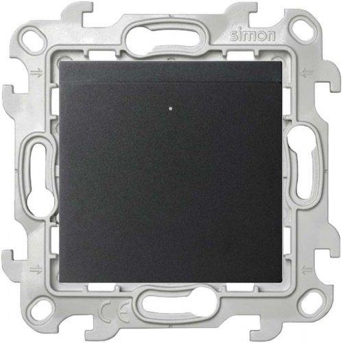 Механизм выключателя карточного Simon24 графит 2410526-038