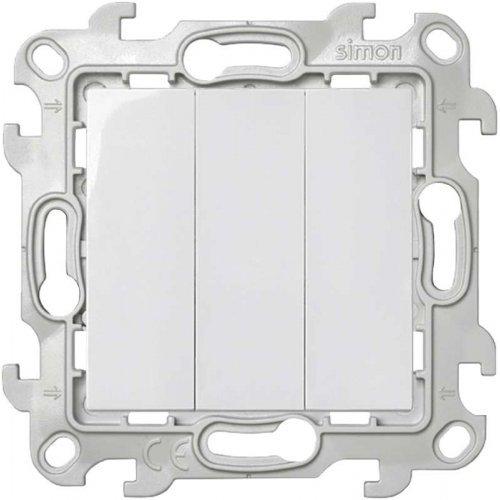 Механизм выключателя 3-кл. Simon24 бел. 2450391-030