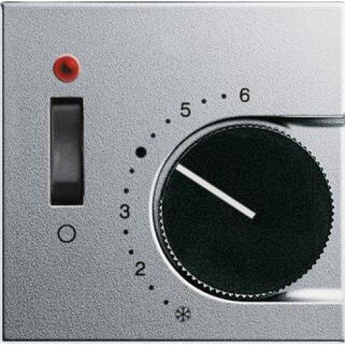 Лицевая панель Gira System 55 термостата теплого пола алюминий 149226
