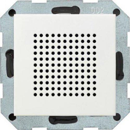 Динамик Gira System 55 радиоприемника RDS чисто-белый глянцевый 228203