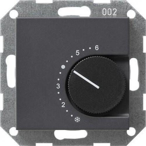 Термостат Gira System 55 помещения антрацит 039628