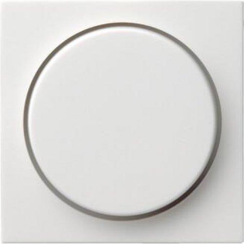 Лицевая панель Gira System 55 диммера поворотного чисто-белый шелковисто-матовый 065027