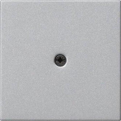Лицевая панель Gira System 55 ввода кабеля алюминий 027426