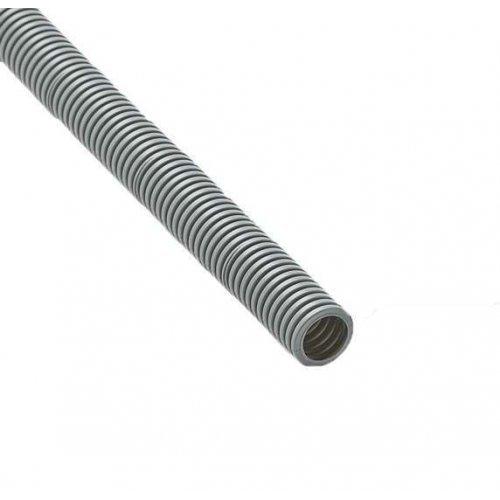 Труба гофрированная ПВХ d32мм с зондом сер. (25м) Рувинил 13201