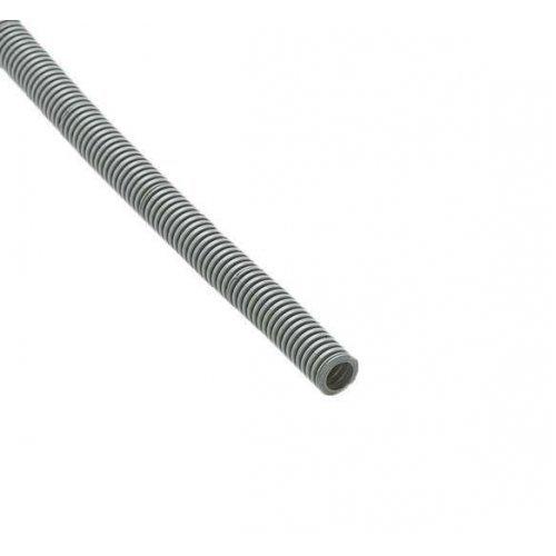 Труба гофрированная ПВХ d16мм с зондом сер. (100м) Рувинил 11601(100)