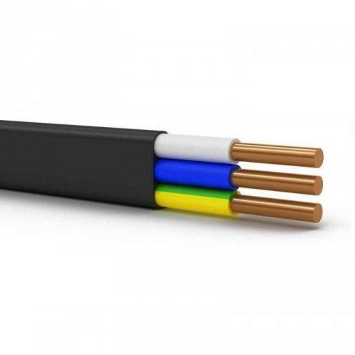 Кабель ВВГ-Пнг(А)-LS 3х10 ОК (N PE) 0.66кВ (м) Энергокабель ЭК000037837