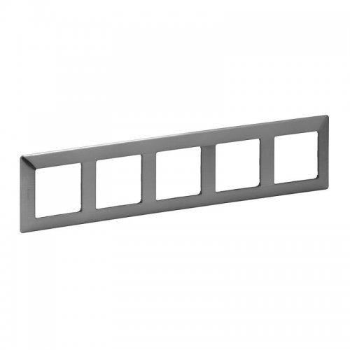 Рамка 5-м Valena Life универсальная сталь Leg 754155