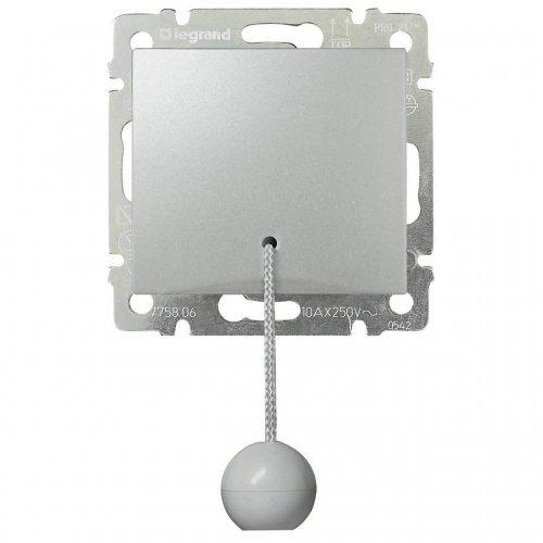 Механизм кнопки Valena перекидн. со шнуром алюм. Leg 770119