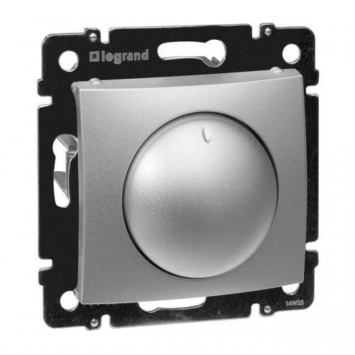 Механизм светорегулятора СП Valena 400Вт поворот. алюм. Leg 770261