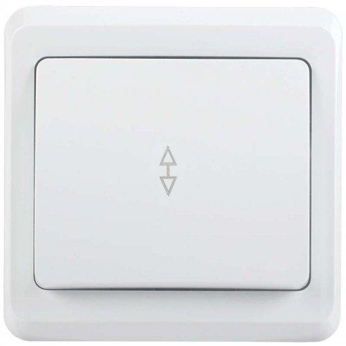 Выключатель 1-кл. СП ВЕГА проход. ВСп10-1-0-ВБ 10А бел. ИЭК EVV12-K01-10-DM