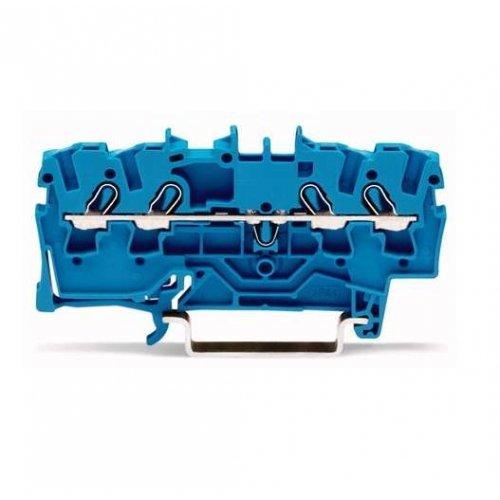 Клемма 4-проводная проходная 0.25-2.5(4)мм2 на DIN рейку