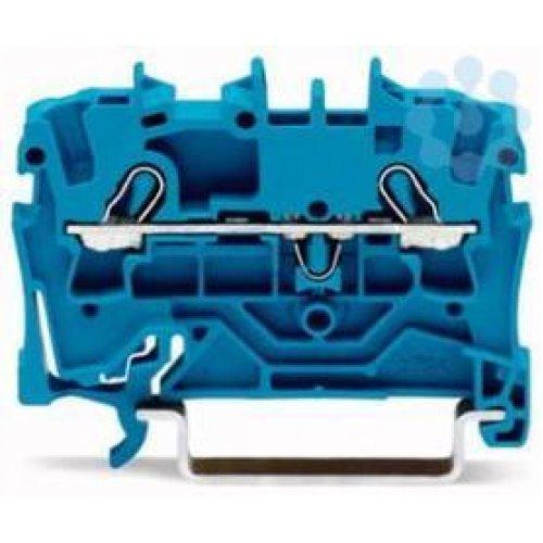 Клемма 2-проводная проходная 0.25-2.5(4)мм2 на DIN рейку